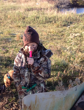 Duck It youth hunting gear