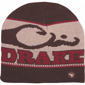 Brown - Big Duck Knit Stocking Cap